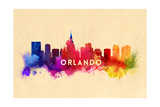 Orlando  Florida - Skyline Abstract