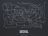 Seoul Screen Print Black