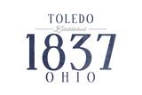 Toledo  Ohio - Established Date (Blue)