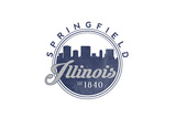 Springfield  Illinois - Skyline Seal (Blue)