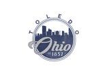 Toledo  Ohio - Skyline Seal (Blue)
