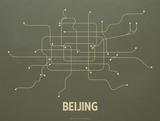 Beijing Screen Print Olive