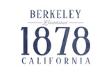 Berkeley  California - Established Date (Blue)