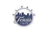 El Paso  Texas - Skyline Seal (Blue)