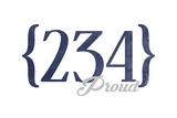 Akron  Ohio - 234 Area Code (Blue)