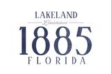 Lakeland  Florida - Established Date (Blue)