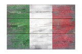 Italy Country Flag - Barnwood Painting
