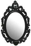Baroque Mirror - Black