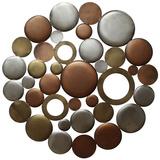 Multi Metallic Circle Burst