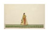 An Indian Macaroni Lady  1800-10