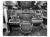 377 Stratocruiser flight deck
