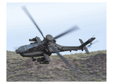 AH-64E Apache helicopter