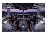 DC-10 McDonnell Douglas Cockpit