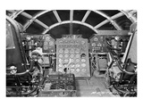 B-29 heavy bomber Flight Deck