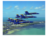 Blue Angels F/A Hornet maneuvers