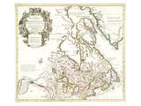 Carte Du Canada 1703