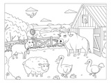 Farm - Kids Design Coloring Art