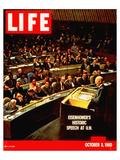 LIFE Eisenhower at UN 1960