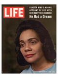 LIFE Coretta 'He had a dream'