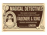 Magical Detectives Falconeye