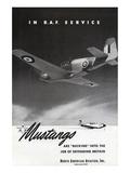 Mustangs In RAF Service