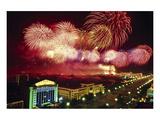 Tianemen Sq Beijing Fireworks
