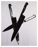 Knives  c1981-82 (three black)