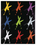 Knives, 1981-82 (multi) Reproduction d'art par Andy Warhol