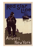 Red Star Line Anvers New York