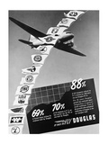 Vintage Douglas DC-3 Ad