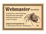 Webmaster Reproduction d'art par Anonymous