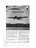 World Record with 4 Engine Boeings
