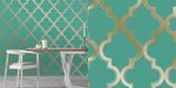 Marrakesh Honey Jade Self-Adhesive Wallpaper *