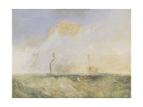 Steamer and Lightship; a Study for 'The Fighting Temeraire'