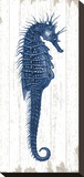 Seahorse in Blue I