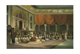 Sir Charles Warre Malet  Concluding a Treaty in 1790 in Durbar with the Peshwa