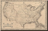 American Posts & Forts  1861