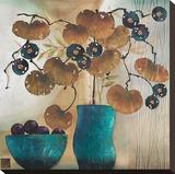 Raku Bowl and Vase