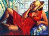 Chilling Tableau sur toile par Monica Stewart