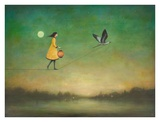 Blue Moon Expedition Reproduction d'art par Duy Huynh