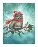Owl-lelujah! Reproduction d'art par Vickie Wade