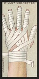 Continuous Finger Bandage  No48 from the 'First Aid' Series of 'Wills's Cigarettes' Cards  1913