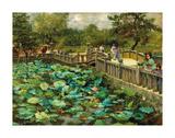 Lotus Pond  Shiba  Tokyo  c1886