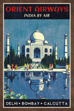 Orient Airways Reproduction d'art par Collection Caprice