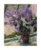 Lilacs in a Window  c1880 - 1883