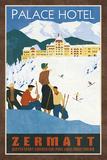 Grand Hotel Zermatt Giclée par Collection Caprice