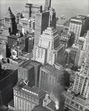Financial District Rooftops  Manhattan