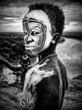 A Boy of the Karo Tribe Omo Valley (Ethiopia)