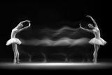 Double Pose Reproduction d'art par Antonyus Bunjamin (Abe)