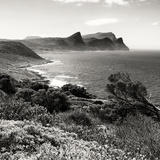 Awesome South Africa Collection Square - South Peninsula Landscape - Cape Town B&W Papier Photo par Philippe Hugonnard